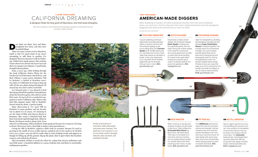 Green Heron Tools in the News Farming Tools for Women