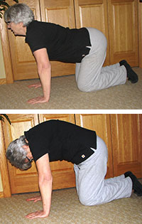 stretching techniques prior to work or exercise green